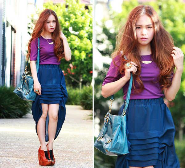 Combinaci n de ropa con morados tu closet vintage - Combinar color lila ...